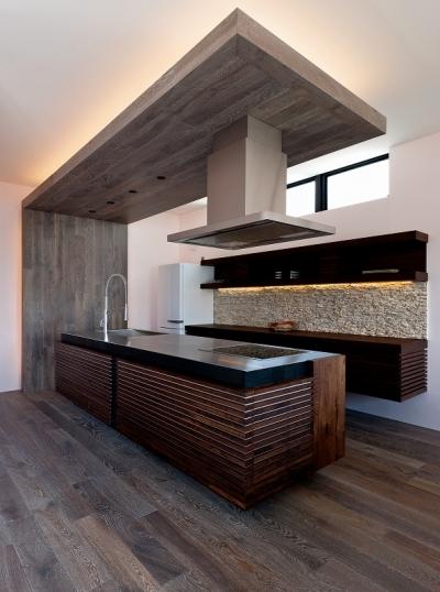 自然素材の家 オークラモデル (オリジナルキッチン)
