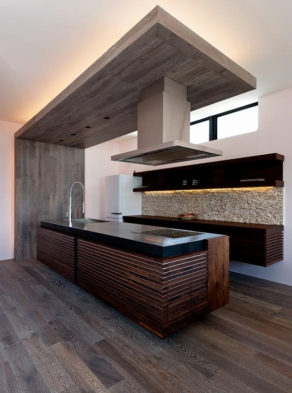 自然素材の家 オークラモデルの部屋 オリジナルキッチン