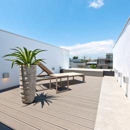 自然素材の家 オークラモデル (ルーフテラス)