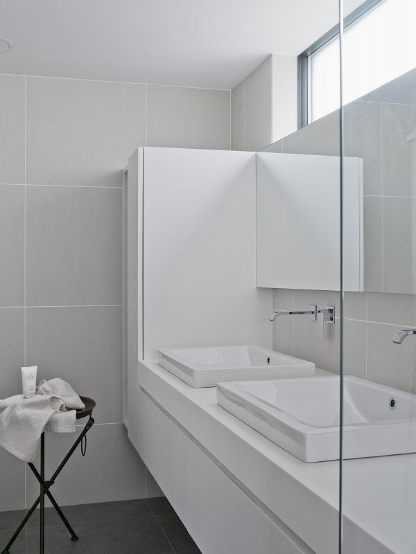 自然素材の家 オークラモデルの部屋 洗面室