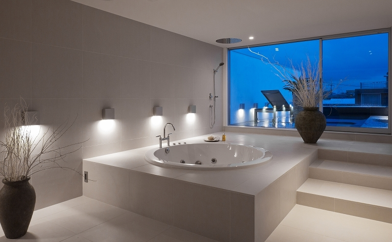 自然素材の家 オークラモデルの部屋 3階 ジャグジー