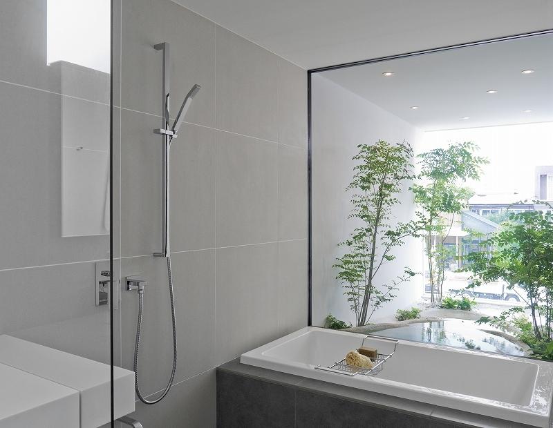自然素材の家 オークラモデルの部屋 2階 浴室