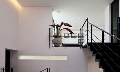 自然素材の家 オークラモデル (吹き抜けのある大空間)