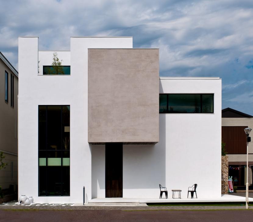自然素材の家 オークラモデルの部屋 外観