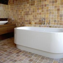 自然素材の家 駒沢モデル (浴室)