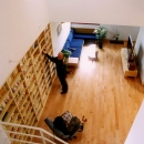 遠藤泰人の住宅事例「本棚に囲まれた一室空間の家」