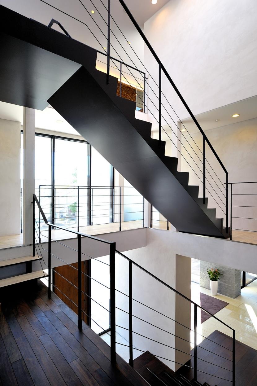 自然素材の家 駒沢モデルの写真 階段