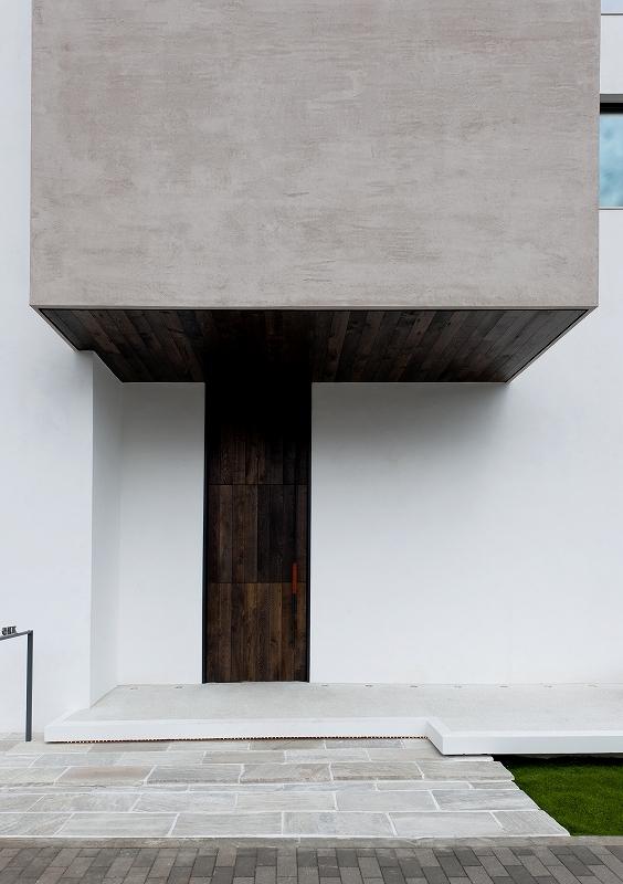 自然素材の家 オークラモデルの部屋 玄関