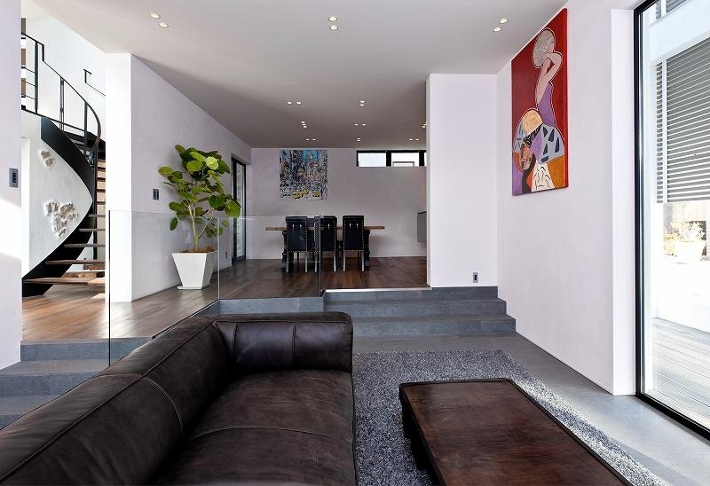 自然素材の家 瀬田モデルの部屋 リビング