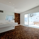 自然素材の家 瀬田モデルの写真 洗面室