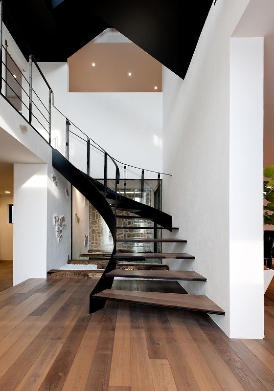 自然素材の家 瀬田モデルの部屋 階段
