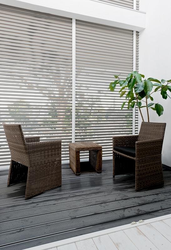自然素材の家 瀬田モデルの部屋 ウッドデッキ