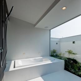 自然素材の家 瀬田モデル (浴室)