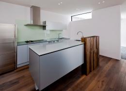 自然素材の家 瀬田モデル (キッチン)