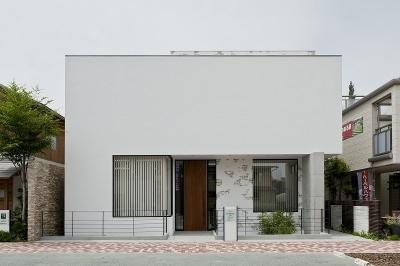 自然素材の家 三鷹モデル (外観)
