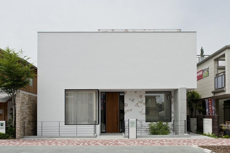 自然素材の家 三鷹モデルの部屋 外観