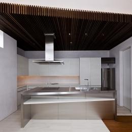 自然素材の家 三鷹モデルの写真 キッチン