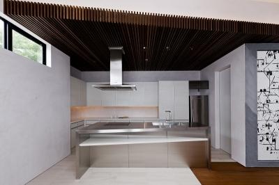 自然素材の家 三鷹モデル (キッチン)