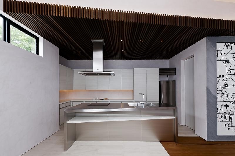 自然素材の家 三鷹モデルの部屋 キッチン