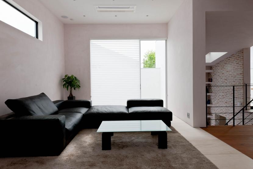 自然素材の家 三鷹モデルの部屋 リビング