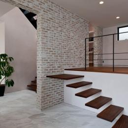 自然素材の家 三鷹モデルの写真 スキップフロア