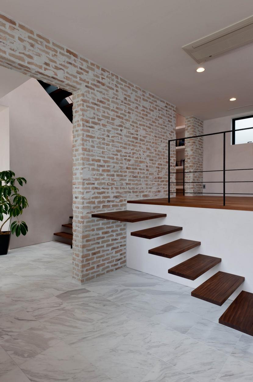 自然素材の家 三鷹モデルの部屋 スキップフロア