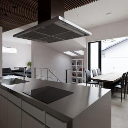 自然素材の家 三鷹モデルの写真 ダイニングキッチン