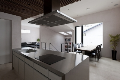 自然素材の家 三鷹モデル (ダイニングキッチン)