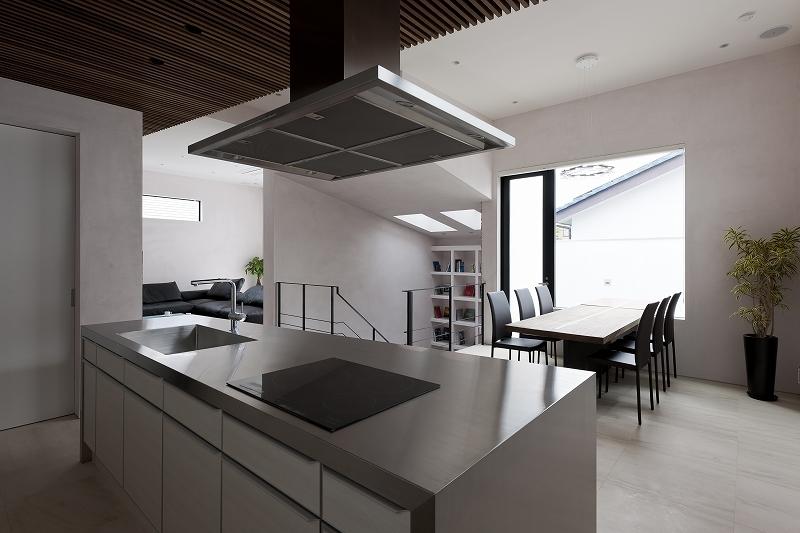 自然素材の家 三鷹モデルの部屋 ダイニングキッチン