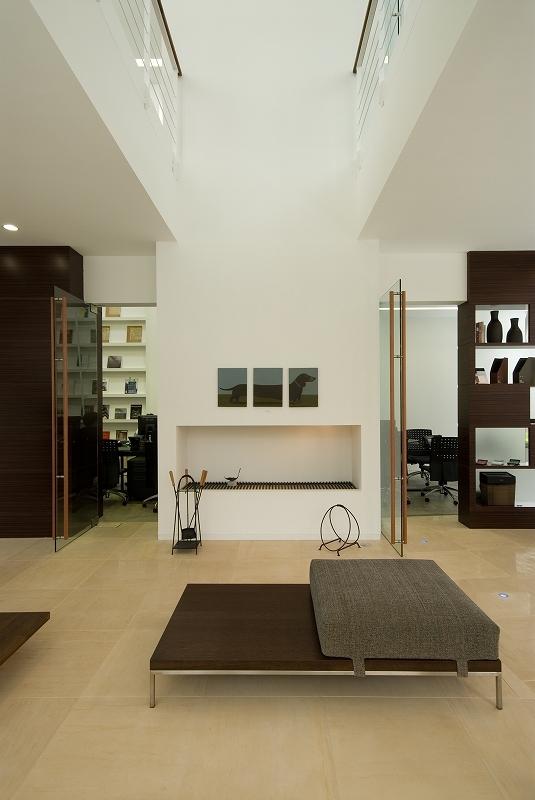 自然素材の家 港北モデルの部屋 リビング
