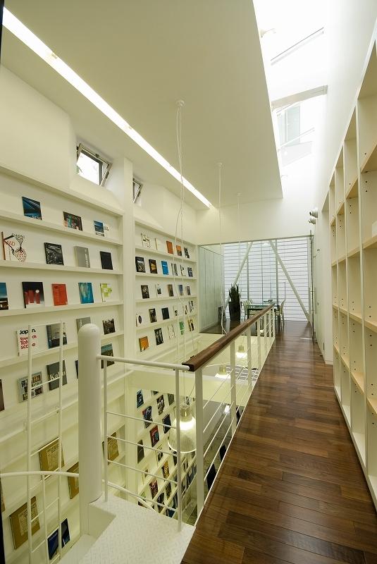 自然素材の家 港北モデルの部屋 廊下