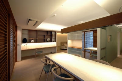 神戸M邸 (ダイニング)