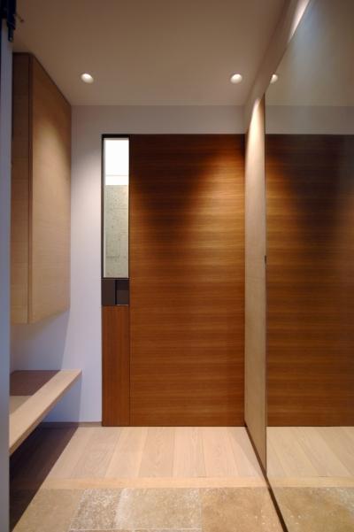 神戸M邸 (玄関)