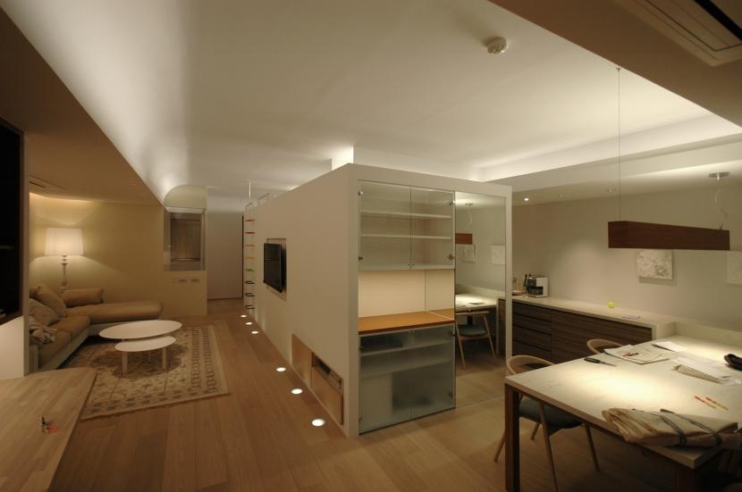 神戸M邸の写真 リビングダイニングキッチン