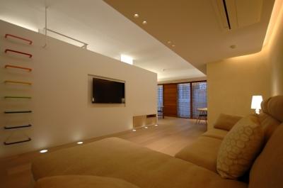 神戸M邸 (リビング2)