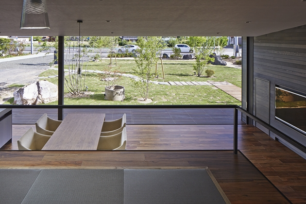 常陸太田の家の部屋 小上がりの座敷