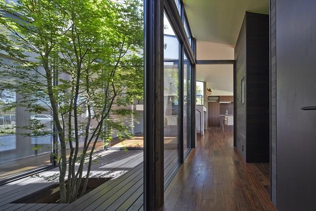 常陸太田の家の部屋 廊下