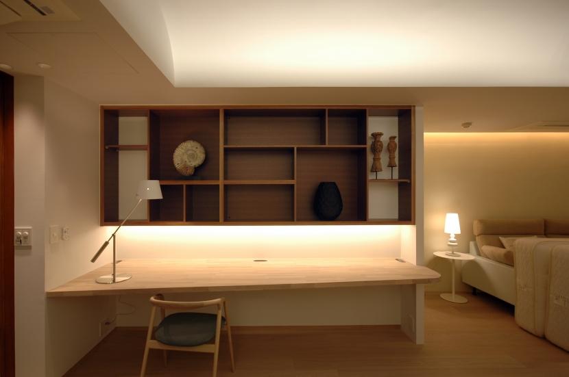 神戸M邸の写真 書斎