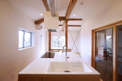 ダイニングキッチン (ON-renovation)