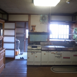 ON-renovation (キッチンbefore)
