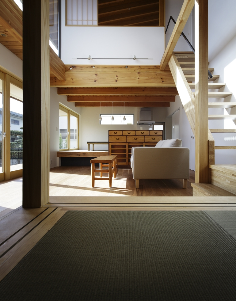 南流山の家の部屋 階段