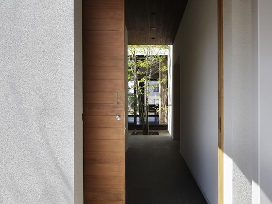 あざみ野の家の部屋 土間