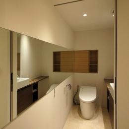 トイレ (神戸M邸)