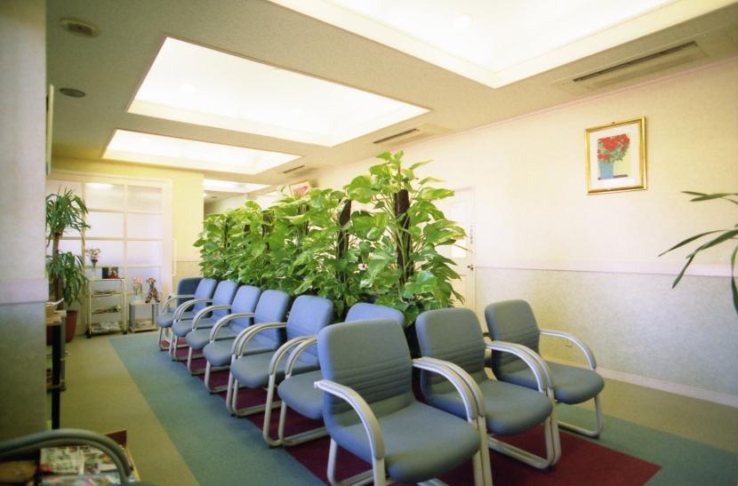 郊外型有床診療所OKDの写真 待合室