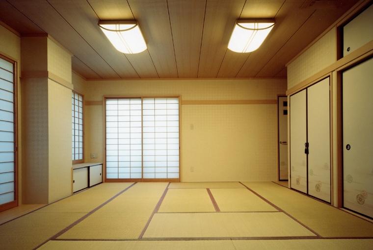 郊外型有床診療所OKDの部屋 居間につづく和室