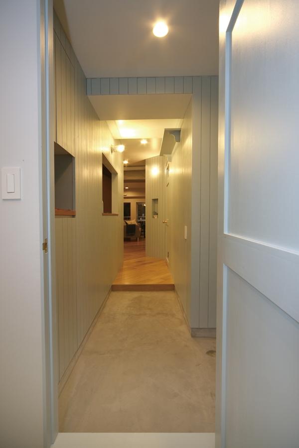 ククルス戸越の部屋 土間玄関