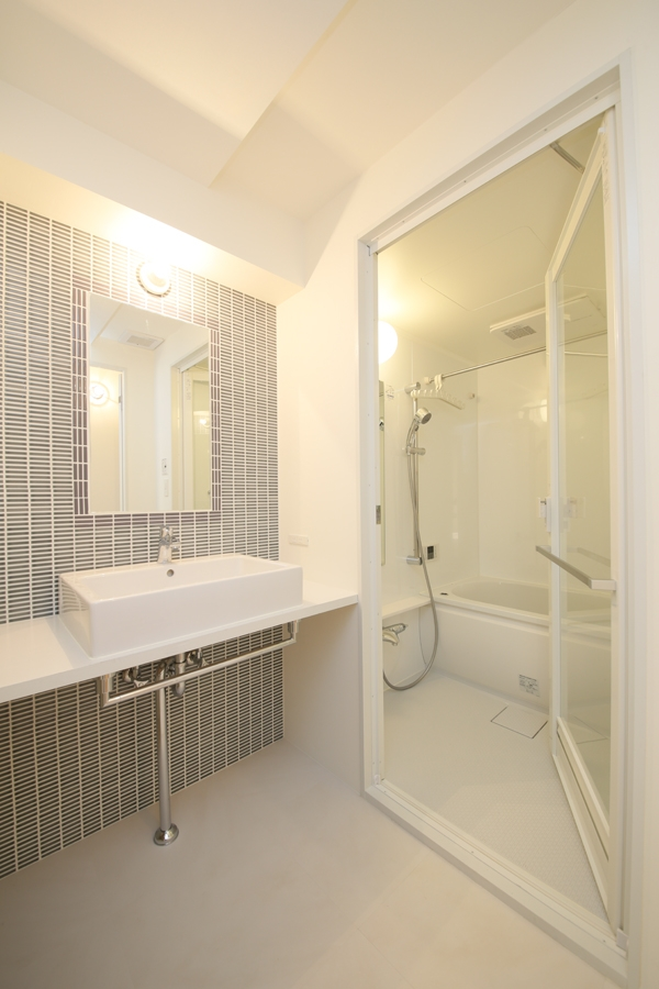ヒガシテラオの部屋 洗面室