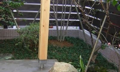Days-Cafe 小さな庭を眺めるCafe (庭)