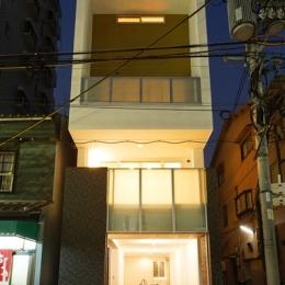 建築家 東 正二の事例「上本町の家(ガレージハウス)」