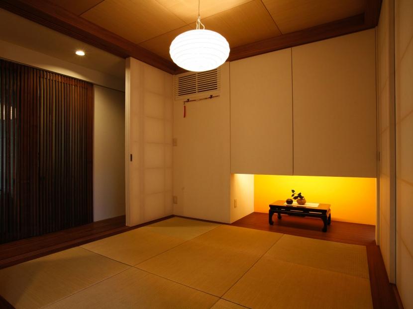 Kb邸の部屋 和室